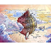 The hot air balloon city! Photographic Print