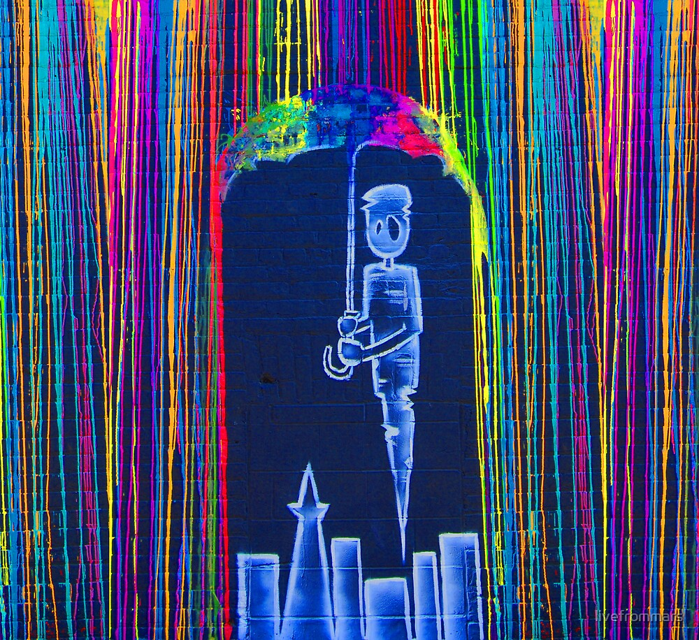 graffiti artwork by livefrommars