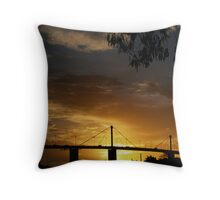 Westgate Bridge Throw Pillow