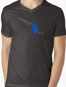 We're All Just Stories in the End Mens V-Neck T-Shirt