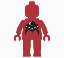 Minifig with UFO by Customize My Minifig