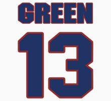 Basketball player Rickey Green jersey 13 by imsport