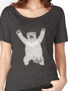 Roaring Bear (Ink) Women's Relaxed Fit T-Shirt