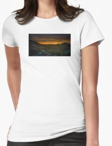 Valley of Lights Womens Fitted T-Shirt