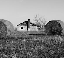 Across the fields of hay by mentis