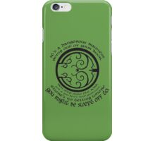 It's a Dangerous Business Going Out Your Door iPhone Case/Skin