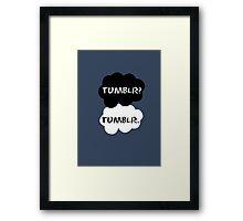 Tumblr - TFIOS Framed Print