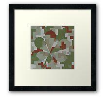 The Forest Sounds: Chestnut Framed Print