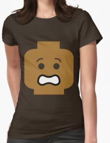 Scared Minifig Face T-Shirt