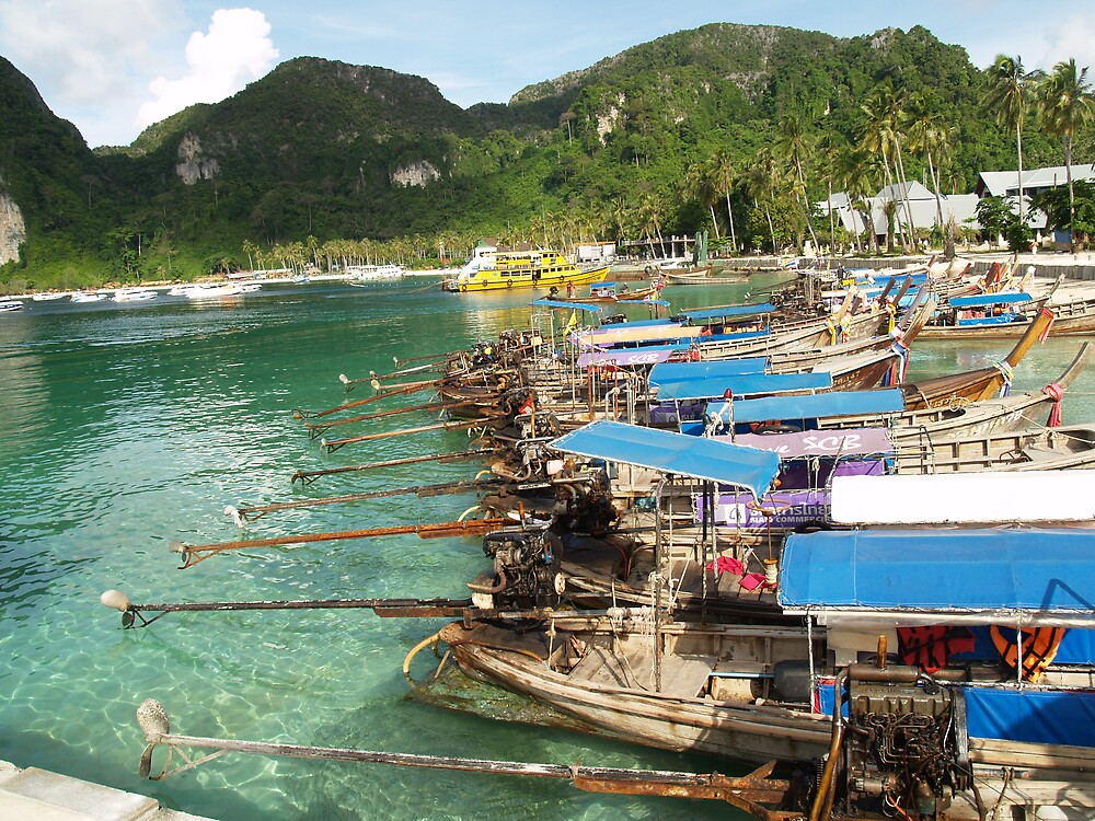 Thai Boats by focus