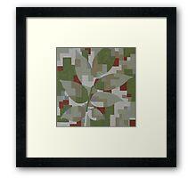 The Forest Sounds: Rowan Framed Print