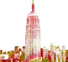 Empire State Building Sticker