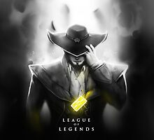 League of Legends - Twisted Fate by leagueofposters