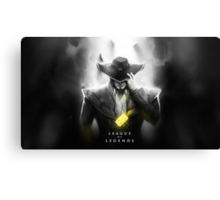 League of Legends - Twisted Fate Canvas Print