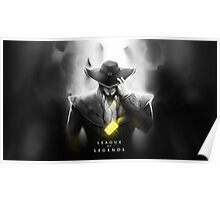 League of Legends - Twisted Fate Poster