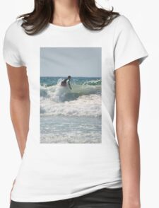 Surfing  Womens Fitted T-Shirt