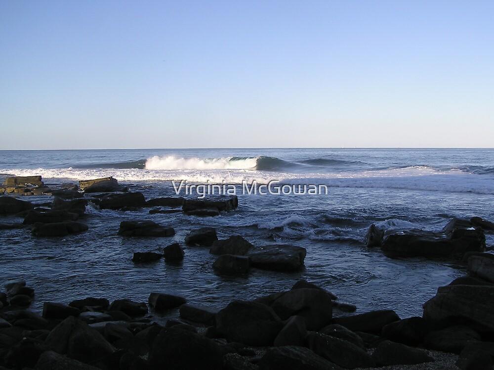 Iluka Beach Wave by Virginia McGowan