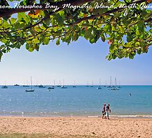 Horseshoe Bay, Magnetic Island, North Queensland by Paul Gilbert