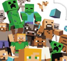 Minecraft love Sticker