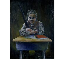 Student with a Rifle (2000) Photographic Print