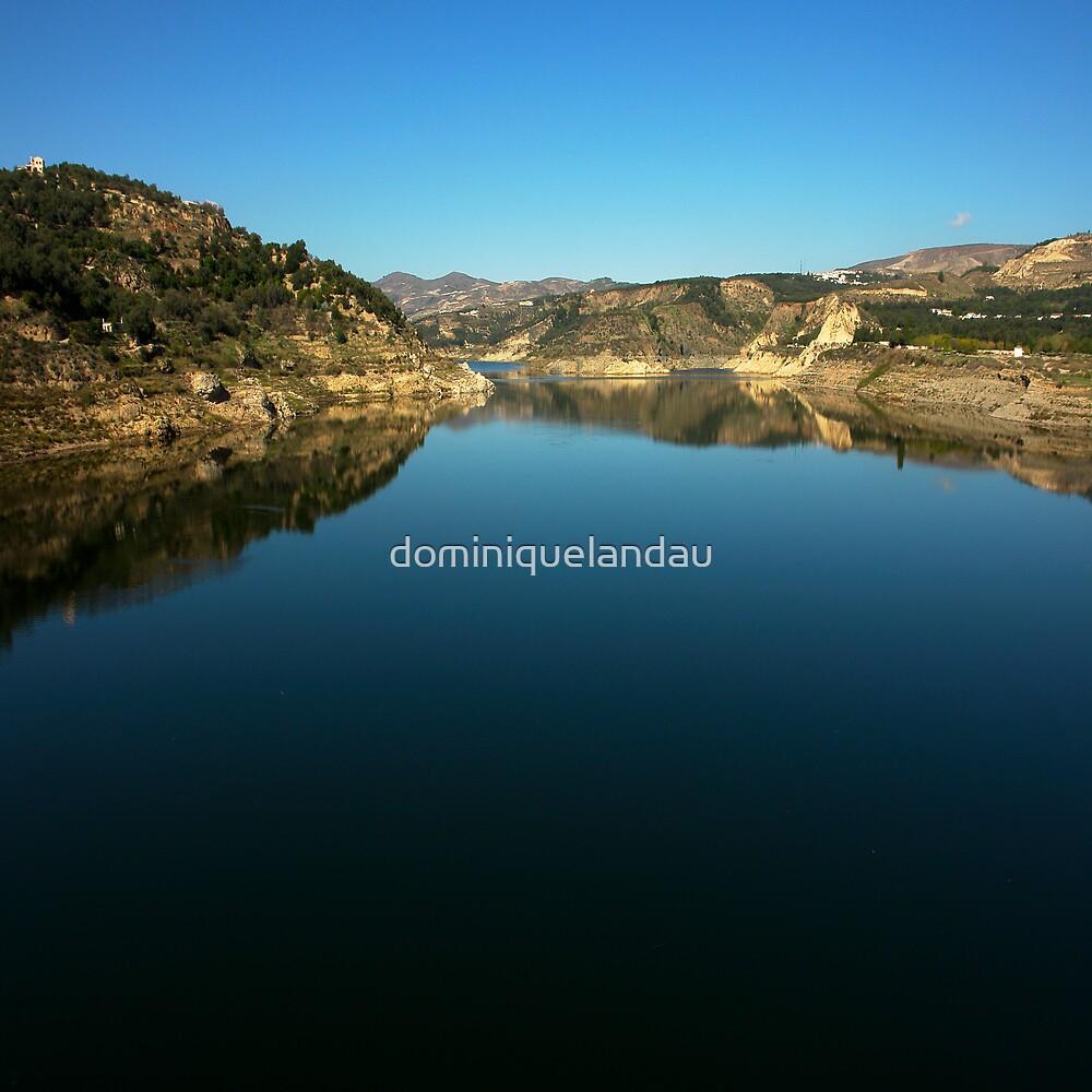 artificial lake by dominiquelandau