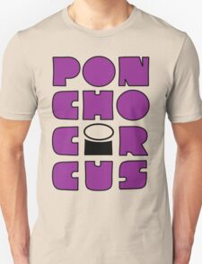 Poncho Circus - Block Purple. NEW RELEASE Unisex T-Shirt