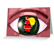 EYE OF A CHILD Greeting Card