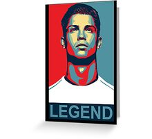 Ronaldo Greeting Card