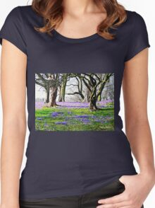 Mowbray Park, Sunderland Women's Fitted Scoop T-Shirt