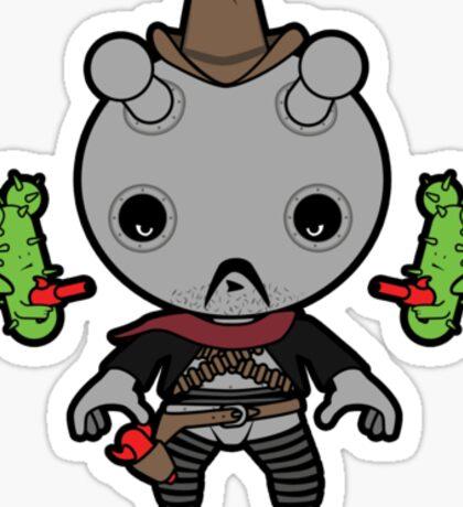 Robot Rodriguez Sticker