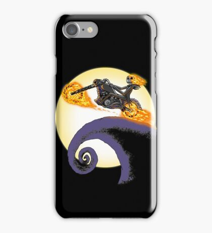 A Ride Before Christmas. iPhone Case/Skin