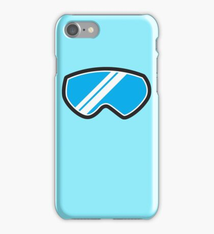 Snow goggles winter iPhone Case/Skin