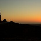 Sunset over the Lighthouse by DionM