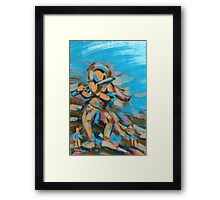 The celestial nymph (The Flutist) Framed Print