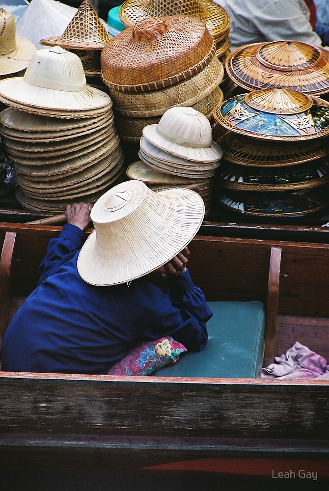 Floating Markets by Leah Gay