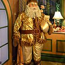 Santa with presents by Arie Koene