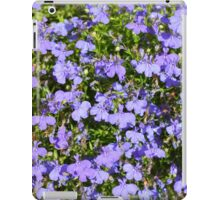 Purple Flowers iPad Case/Skin
