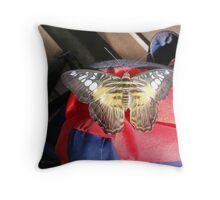 Hitchhiker II Throw Pillow