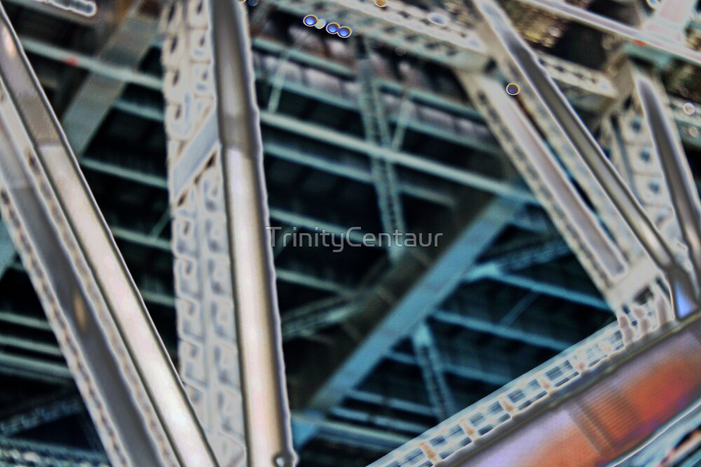 abstract view of harbour bridge by TrinityCentaur