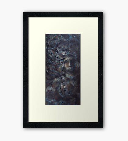 The celestial nymph (The Night Dancer) Framed Print