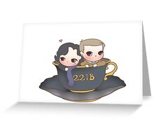 My cup of tea Greeting Card