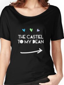 The Castiel to my Dean Winchester Women's Relaxed Fit T-Shirt