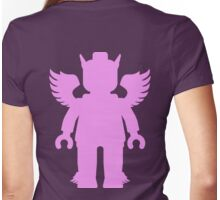 WINGED GREEK GOD Womens Fitted T-Shirt
