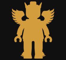 WINGED GREEK GOD One Piece - Short Sleeve