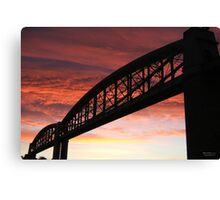 Brunel Sunrise Canvas Print