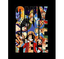 Only One Piece Photographic Print