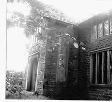 An abandoned old house in Bolton Lancs by Ann Macdonald