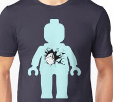 Minifig with Smashing Window Unisex T-Shirt
