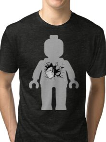 Minifig with Smashing Window Tri-blend T-Shirt