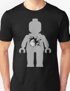 Minifig with Smashing Window T-Shirt